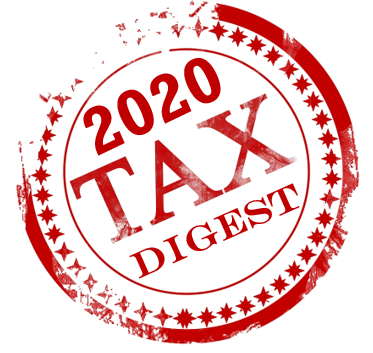 2020 Tax Digest and 5 Year History 8.3