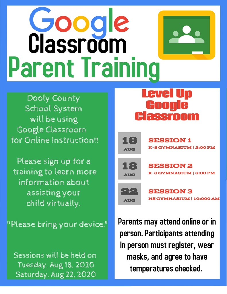 Google Classroom Parent Training